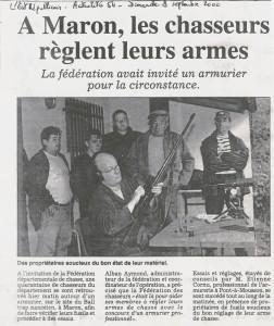 L'Est Républicain du 03 sept 2000